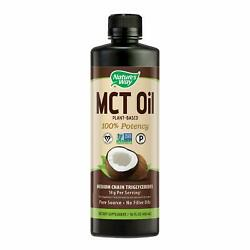 Nature's Way 100% Potency Pure Source MCT Oil from Coconut16 Fluid Ounce