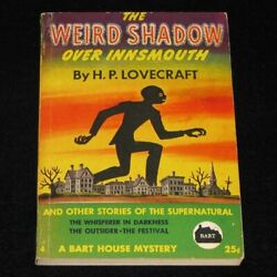 WEIRD SHADOW OVER INNSMOUTH H.P. Lovecraft Bart House 1944 Occult Weird Tales