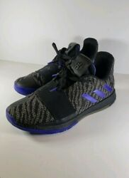 Adidas Harden Vol.3 Core Black Active Blue shoes sneakers G26811 mens size 8.5