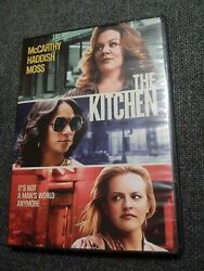 THE KITCHEN DVD 2019-Melissa McCarthy-LIKE NEW-FREE SHIPPING-READ DESCRIPTION