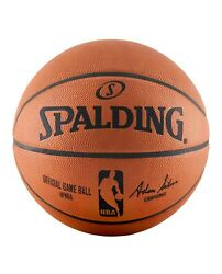 Spalding NBA Official Game Ball genuine Leather Size 7 29.5quot; 74 569Z $184.99