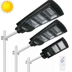 990000LM Solar LED Street Light Commercial Outdoor IP67 Area Security Road Lamp $73.77