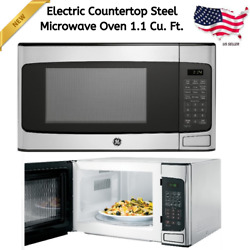 Modern Countertop Stainless Steel Microwave Oven 1.1 Cu Ft 950W Kitchen Home New $133.70