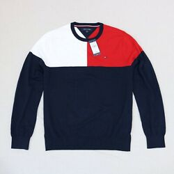 Tommy Hilfiger Men Crew Neck Sweater size M  L XL new with tags