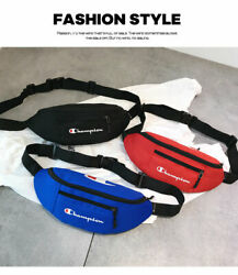 Champion Chest bag Anti-theft Waist pack wallet  Cross-body bag  leisure Unisex $12.09