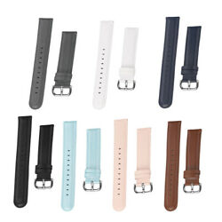 Leather 20mm Bracelet Strap Replacement Watch Band for GARMIN 3 $11.29