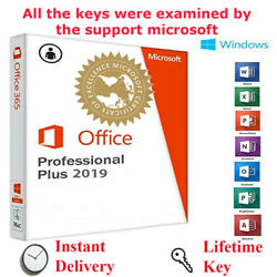 Office 2019 Microsoft Plus Key Home  Professional Windows Key And License