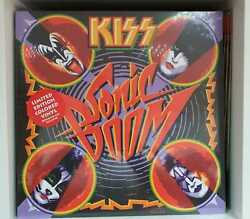 Kiss Sealed Sonic Boom Vinyl Record RED Limited Edition VINYL  UK