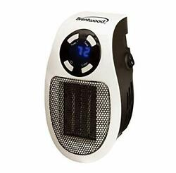Brentwood Appliances H-c350w 350-watt Plug-in Wall Outlet Personal Space Heater $35.77