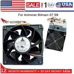 7500RPM DC12V 5.0A Industrial Miner Cooling Fan Cooler F Antminer Bitmain S7 S9 $16.14