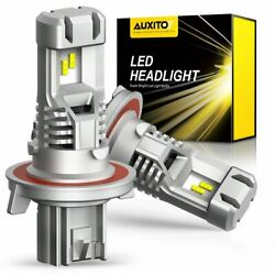 AUXITO H13 9008 LED Headlight Bulbs 9000LM Xenon White for Ford F 150 2004 2014 $38.99