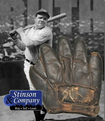 Babe Ruth Personally Owned 1910 20 Spalding Baseball Glove w COA Free Ship $124999.99