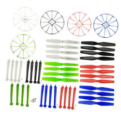 Multicolor Propellersamp;Protective Coversamp;Landing Gears for SYMA Quadcopter $17.06