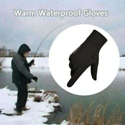 Men Winter Warm Gloves Waterproof Gloves Winter Gloves Touchscreen for Cycling $7.43
