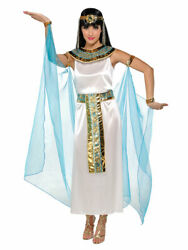 CLEOPATRA ROMAN EMPIRE EGYPTIAN QUEEN TOGA ADULT WOMEN'S COSTUME X LARGE 14-16