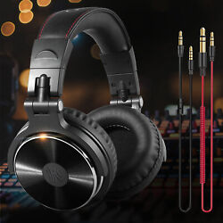 OneOdio Adapter-free Closed Back Over-Ear Wired Headphone Studio Pro-10 Black $28.97