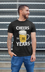 Cheers To 41 Years Beer Age Birth Year Birth Date Birthday Personalized T Shirt