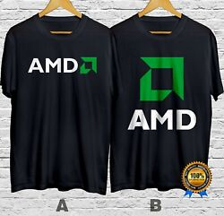 AMD Graphic Processor T-Shirt Cotton 100% S-4XL USA size Fast Shipping