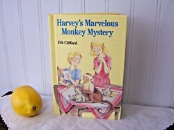 Vintage 1987 Harvey's Marvelous Monkey Mystery by Eth Clifford - Excellent  $48.00