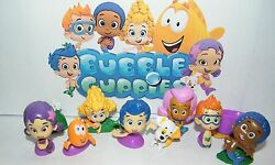 Nickelodeon Bubble Guppies Figure Set of 12 with Gil Molly and More $10.75