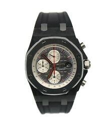Audemars Piguet Royal Oak Offshore Jarno Trulli Chronograph Carbon Watch 26202AU