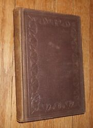 1865 Antique Book  The Young Student or Literary Remains of J. Zimmerman Johnson $9.99