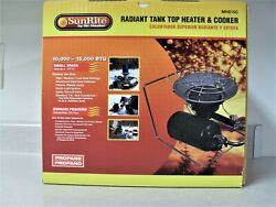 Sunrite Mr Heater Portable Propane Tank Top Heater & Cooker Camping Stove $44.90