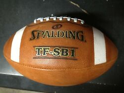 SPALDING TF SB1 Football Ball FOOTBALL CHAMPIONSHIP $29.99