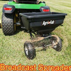 Fertilizer Spreader 85 Lb Behind Broadcast Tow Hopper Seed ATV Lawn Tractor Pull $85.97