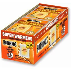 HotHands Body & Hand Super Warmers Up to 18 Hours of Heat - 40 Individual Warmer $28.90