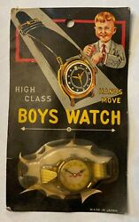 Vintage Toy Novelty quot;High Class Boys Watcquot; Japan Unused Warehouse Store Stock $10.95