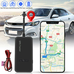 Real Time Car GPS Tracker GSM GPRS Tracking Locator Device for Motorcycle Bike $16.98