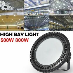 500W 800W UFO LED High Bay Light Commercial Warehouse Factory Fixture Lamp FedEx $1,910.03