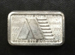 1981 A-Mark Commercial Poured Silver Ingot One Ounce .999 A2741 $107.00