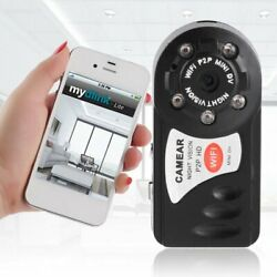Mini DV Camera P2P WiFi Security IP Wireless Remote Camera Video Recorder Wifi# $18.19