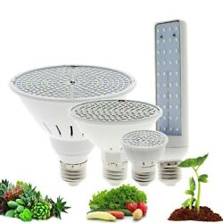 LED Grow Light Bulb Full Spectrum Indoor Lamp Plants 220V E27 For Greenhouse $9.99