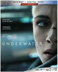 Underwater New Blu ray Dolby Digital Theater System Subtitled Widescreen $29.83