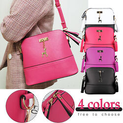 Women Ladies Leather Handbag Shoulder Bag Crossbody Tote Messenger Satchel Purse $10.47