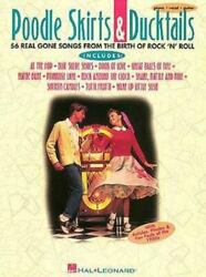 Poodle Skirts and Duck Tails : 55 Real Gone Songs from the Birth of Rock #x27;n#x27;... $8.95