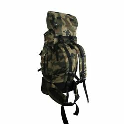 Camouflage Hiking or Camping Mountaineer#x27;s Back Pack Water Resistant Heavy Duty $54.05