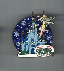 Disney Very Merry Christmas Party Tinker Bell Castle Spinner Pin Le 2000 $10.99