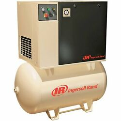 Ingersoll Rand Rotary Screw Compressor- 460 Volts 3 Phase 15 HP 55 CFM