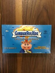 2014 TOPPS GARBAGE PAIL KIDS SERIES 2 COLLECTOR'S HOBBY BOX RELIC G $239.95
