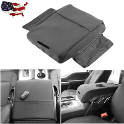 Black For 2002 2019 Ford F150 Raptor Truck Center Armrest Auto Console Lid Cover