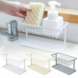 Sponge Sink Tidy Holder Kitchen Bathroom Storage Rack Strainer Organizer Tools $7.98