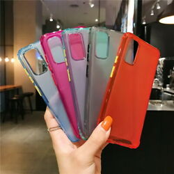 For Samsung S20 S10 Note 10 Plus A51 A71 Matte Clear Silicone Soft Case Cover $3.69