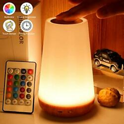 Touch Lamp Portable Table Sensor Control Bedside Lamps Quick USB Charging Port $29.99