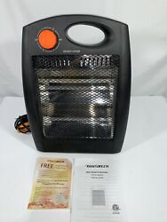 Quiet and Light Infrared Radiant Space Heaters Energy Efficient without Fan $35.99