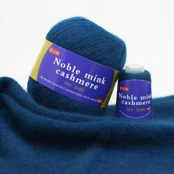Cashmere Wool Yarns 100% Mink For Hand Knitting Fluff Thread Sweater Scarf Style $14.23