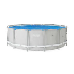 Bestway 58252E 14ft Round Above Ground Swimming Pool Solar Heat Cover Blanket $69.99